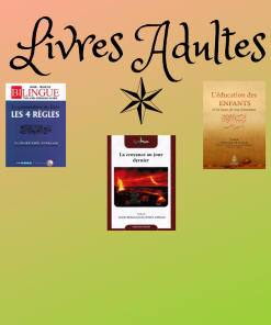 Livres Adultes
